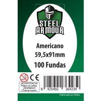100 Fundas tamaño Americano (59,5x91mm)