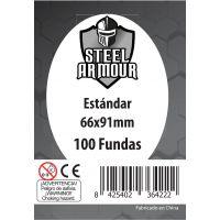 100 Fundas tamaño Estándar (66x91mm)