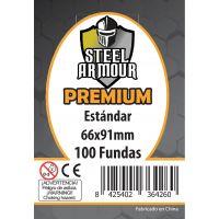 100 Fundas tamaño Estándar Premium (66x91mm)