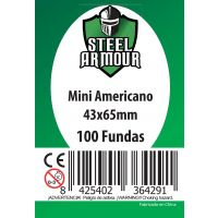 100 Fundas tamaño Mini Americano (43x65mm)