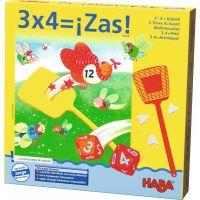 3x4 ¡Zas! Juego de mesa para practicar las tablas de multiplicar de una forma divertida
