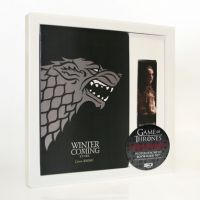 Set libreta y punto de libro, Casa Stark, Juego de Tronos