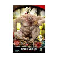 Estatua de resina, pecado gula, serie 1