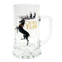 Jarra de cerveza, lema de la Casa Baratheon, Juego de Tronos