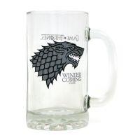 Jarra de cerveza de cristal, Casa Stark, Juego de Tronos