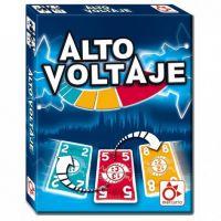 Alto Voltaje es un juego de cartas para trabajar el cálculo mental y la capacidad de reacción. Muy adecuado para jugar en clase de primaria.