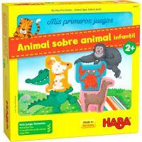Animal sobre Animal juego de mesa infantil para niós y niñas