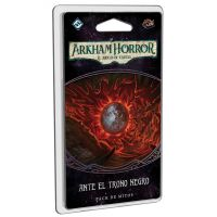 Arkham Horror, el juego de cartas: Ante el trono negro es el epílogo de la campaña.