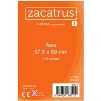 Fundas Zacatrus Asia (57,5 mm x 89 mm) (110 uds)