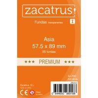 Fundas Zacatrus Asia Premium (57,5 mm x 89 mm) (55 uds)