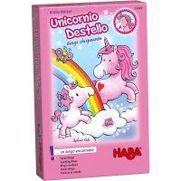 Unicornio Destello: Bingo chispeante juego infantil de unicornios rosa