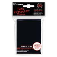 Fundas Ultra Pro Standard Black, 66x91 mm.