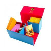 Caja de mazo para cartas Dex Protection Creation Line Medium - Para 200 cartas. Color Azul