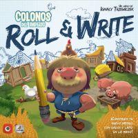 Colonos del Imperio: Roll & Write juego de mesa de viaje