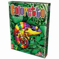 Coloretto juego de cartas de camaleón