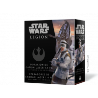 Star Wars Legión: Dotación de cañón láser 1.4 FD