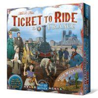 Aventureros al Tren Francia + Viejo oeste es una expansión del aclamado juego Aventureros al Tren