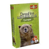 Desafíos de la Naturaleza: Europa juego de cartas infantil