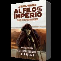 Star Wars: Al filo del Imperio. Mazo de especialización: Universal Exiliado Sensible a la Fuerza