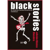 Black Stories: Música Macabra juego de deducción de cartas