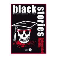 Black Stories: Universidad Maldita juego de cartas de deducción