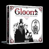 Gloom es un juego de cartas transparentes terrorífico y divertido en que intentarás que tu familia pase a mejor vida