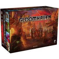 Gloomhaven juego de mesa con miniaturas