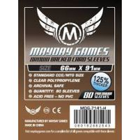 Fundas Mayday Estándar Premium CCG Marrón (66x91mm) (80)