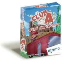 Jessie the Tourist es un juego de cartas de la serie Club A con el que poder practicar y ampliar las nociones de inglés y ampliar vocabulario.