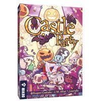 Castle Party es un divertido juego con pizarras borrables en las que dibujar los diferentes símbolos que aparecen en las cartas para puntuar.