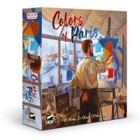 Colors of Paris juego de mesa de gestión de recursos