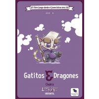 Libro-Juego Infantil: Gatitos y Dragones