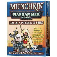 Munchkin Warkhammer 40.000: Lealtad y Potencia de Fuego
