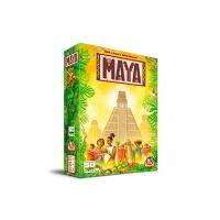 Maya es un juego de mesa de colocación de losetas para toda la familia