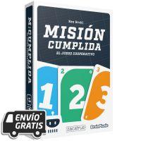 Misión Cumplida es un juego de cartas cooperativo
