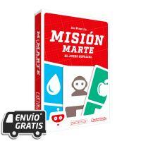 Misión Marte es un juego de mesa familiar muy divertido y rápido. Dados, cartas y a terraformar Marte.