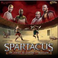 Spartacus juego de mesa de gestión de recursos y estrategia.