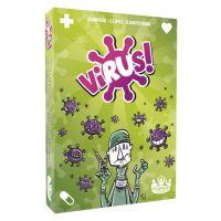 Virus juego de cartas divertido para toda la familia
