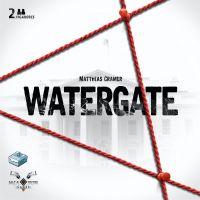 Watergate es un juego de mesa para 2 jugadores que recrea la batalla de Nixon y el Washington Post