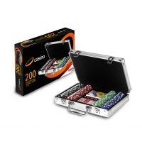 Maletín póker 200 fichas