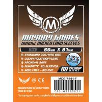 Fundas Mayday Estándar Premium CCG Naranja (66x91mm) (80)