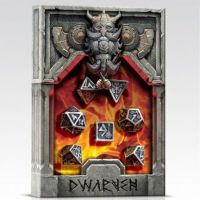 Metal Dwarven Dice Set (7)
