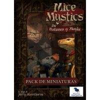 Mice and Mystics (De ratones y magia): Pack de miniaturas