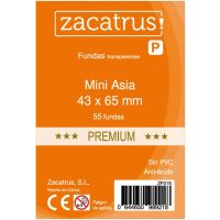 Fundas Zacatrus Mini Asia Premium (43 mm X 65 mm) (55 uds)