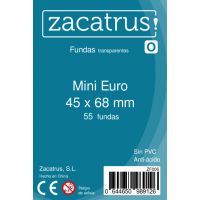 Fundas Zacatrus Mini Euro (45 x 68 mm) (55 uds)