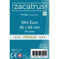 Fundas Zacatrus Mini Euro Premium (45mm x 68mm) (55 uds)