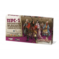 Zombicide Black Plague: Notorious Plagued Characters #1