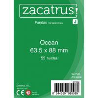 Fundas Zacatrus Ocean (Standard: 63,5 mm x 88 mm) (55 uds)