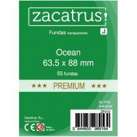 Fundas Zacatrus Ocean premium (standard: 63.5 mm X 88 mm) (55 uds)