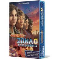 Pandemic Zona 0 Norteamérica juego de viaje cooperativo